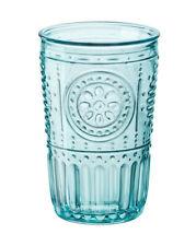 Glass Juice Party Light Blue, Set of 4