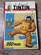 recueil reliure journal tintin belge 18 (1952) couverture Hergé SUPERBE !