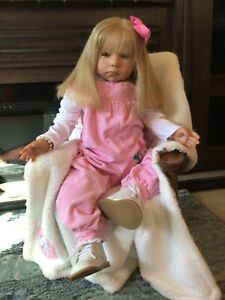 """Reborn Toddler 28 inch~HTF~ """"Lilly"""" sculpt by Connie Burke"""