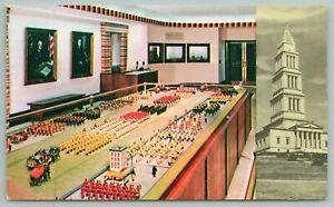 Alexandria VA~Washington Masonic Bldg~Shrine Rm~Miniature Parade~Vintage PC