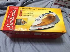 New listing sunbeam steam master iron with secure cord retraction. Sealed box