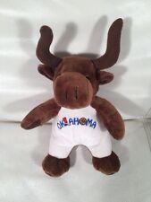 "9"" Oklahoma Souvies Longhorn 2004 Plush Stuffed Animal"