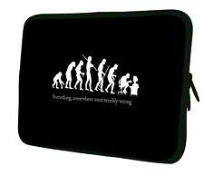 "LUXBURG 14"" Inch Design Laptop Notebook Sleeve Soft Case Bag Cover #CB"