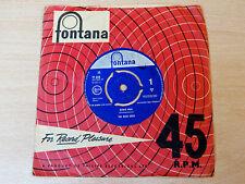"The Wild Ones/Bowie Man/1964 Fontana 7"" Single/Freakbeat"