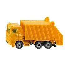 Camions poubelles miniatures orange 1:87