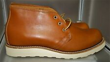 Red Wing 9853 Gold Russet Sequoia Postman Chukka  10 D 9875 9197 9196 9852 9871