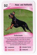 Dogs - Single German Trade Card Doberman Pinscher