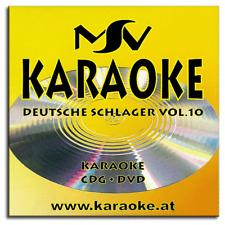 Karaoke DVD CDG CD+G - Deutsche Schlager Superhits Vol.10 - Neuware