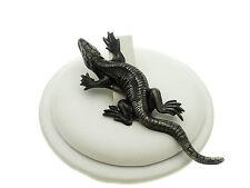 Antique Vintage Sterling Silver Komodo Dragon Pin