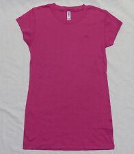 OVERSTOCK! New Bella Ladies Sheer Mini-Rib Longer Length T-Shirt 2XL Berry