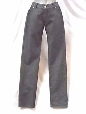New Mens' Sequel Jeans By Quicksilver 26W 32L Gray Black Wash Skinny Leg Cotton