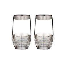 Waterford Mixology Mad Men Edition Circon Platinum HighBall Glass (Set of 2)