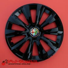 """4 COPRICERCHI BORCHIE 16"""" ALFA ROMEO MiTo 159 GIULIETTA GT 166 DELTAB"""