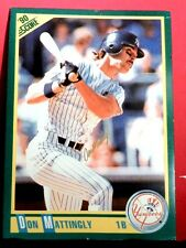 N Y YANKEE DON MATTINGLY AUTOGRAPHED LARGE SCORE CARD