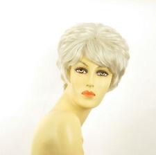 Parrucca donna corta bianco : clementine 60