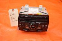 11 12 HYUNDAI GENESIS COUPE OEM RADIO CD PLAYER XM SATELLITE MP3 961802M115