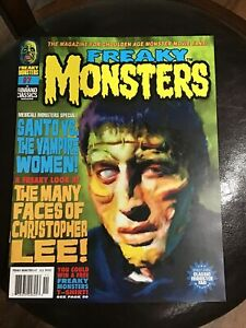 Freaky Monsters Magazine Issue #7...Famous Monsters Type Excellent