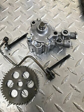 Honda XR500R  Oil Pump & Gear   OEM Part 1983-84 . P/N 15100-MN1-771