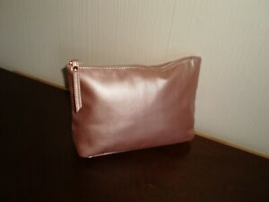 "Make-Up Bags ""Nivea"" Pale Pink Colour  New Without Tags"