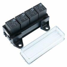4 Way Automotive Relay Box Holder with Relays Auto Car 12V