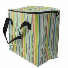 NEW 16L PICNIC COOL BAG TRAVEL BEACH CAMPING 24 CAN DRINKS COOLER FESTIVAL UK