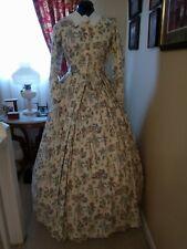 Civil War Reenactment Day Dress Size 16 Pale Yellow