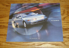 Original 2000 Oldsmobile Alero Deluxe Sales Brochure 00