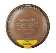 Wet n Wild Color Bronzer SPF 15, Ticket To Brazil [739], 1 ea (2 pack)