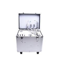 Portable Dental Turbine Unit+Air Compressor+Suction System+Triplex Syringe AL
