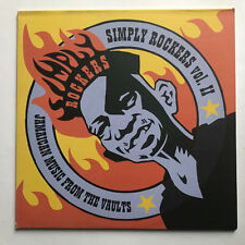 SIMPLY ROCKERS VOL II - JAMAICAN MUSIC FROM THE VAULTS * LP VINYL * FREE P&P UK