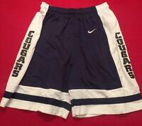 Nike Team BYU Cougars Basketball Shorts Navy White VTG RARE Men's Medium
