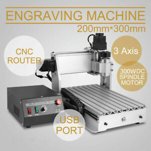 CNC Router 3020T 3 AXIS USB Graviermaschine GraviergeräT FräSmaschine