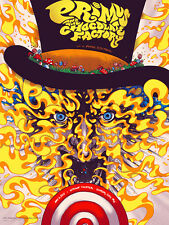 Primus Poster 2015 Kansas City MO Willy Wonka Signed & Numbered #/225
