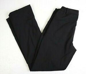 Geval Winter Snow Pants Size XXS extra small Black 100% Polyester Zip Pockets