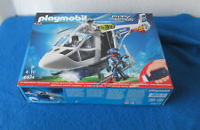 Playmobil® 6874 Polizei-helikopter mit Led-suchscheinwerfer