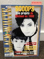 Michael Jackson Black & White magazine no 24 thriller fedora not signed smile