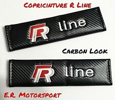 """Copricinture Carbon Look RED """" R """" VW"""