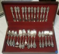 MINT BAROQUE by GODINGER Silver Plate Flatware Set and Serving Pieces - 92 Piece
