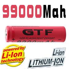 VENDRE PAR  UNE PILE GTF 18650 3.7V 9900mAh Rechargeable BATTERY Li-ion ..*...