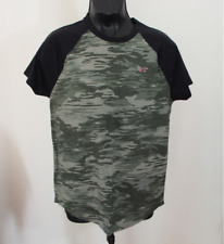 NEW Hollister By Abercrombie Mens Camouflague Pattern Tee, Medium