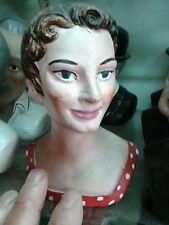 1 statuetta busto sofia loren terracotta 12 cm crib presepe