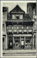 WERNIGERODE Harz AK ~1925 Strassen Partie Breitestrasse Geschäft Wilh. Sauer
