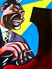 OTIS SPANN PRINT poster piano ebony ivory blues cd never die muddy waters chess