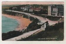 CORNWALL - FALMOUTH, NEW MARINE DRIVE 1910 Postcard