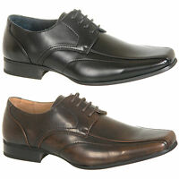 Mens Leather Lined Formal Shoes Size 6 7 8 9 10 11 12