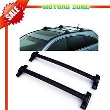 For 07-11 Honda CRV OE Style Black Roof Top Rail Rack Cross Bars Carrier