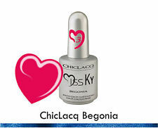 ChicLacq Begonia Smalto Semipermanente UV GEL Soak-Off Nail Polish Unghie KyLua