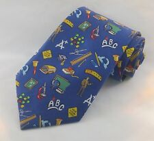Teacher Tie, English Teacher Tie, ABC Tie, English Tie