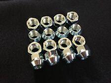 Morris Minor Set of 16 Alloy Wheel Nuts 3/8 inch UNF - Chrome