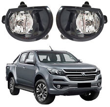 NEW FOG LIGHT KIT SPOT LAMP SET BLACK for HOLDEN COLORADO RG SERIES-II 2017 -ON